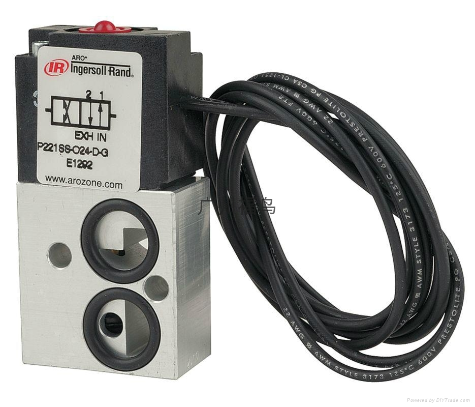 ARO Ingersoll Rand电磁阀, 型号: P221SS-024-D