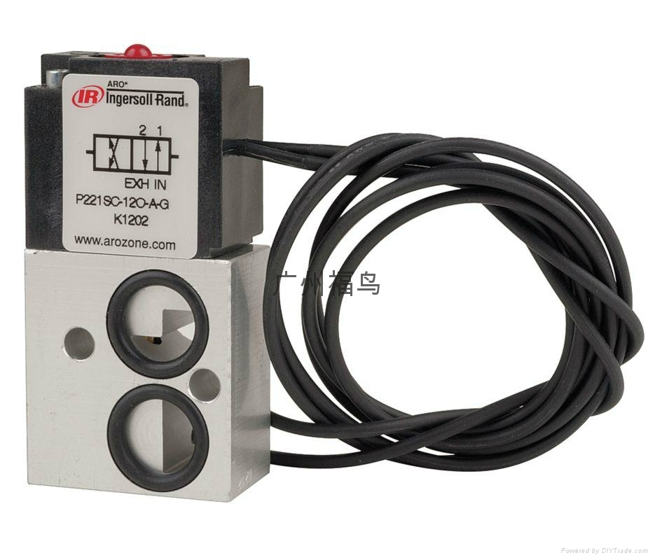 ARO Ingersoll Rand电磁阀, 型号: P221SC-120-A