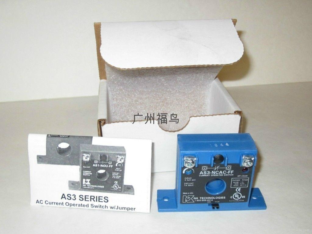 NK TECHNOLOGIES电流传感器, 型号: AS3-NCAC-FF