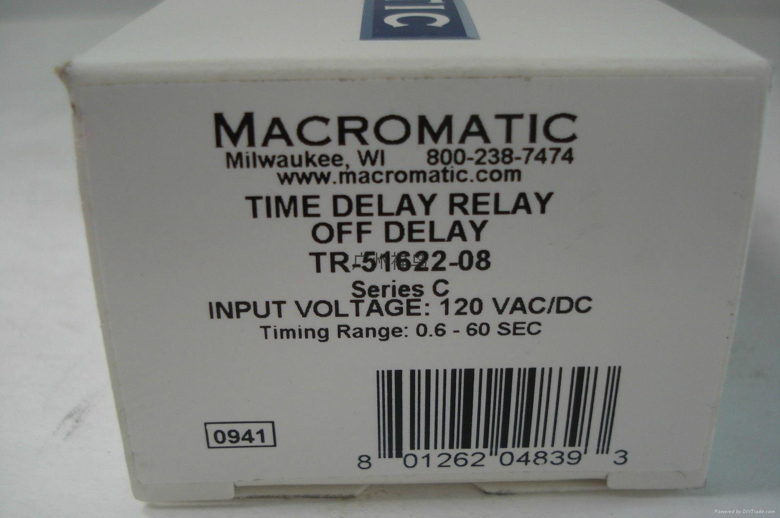 MACROMATIC延时继电器, 型号:TR-51622-08