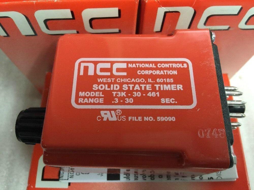NCC延時繼電器, 型號: T3K-30-461