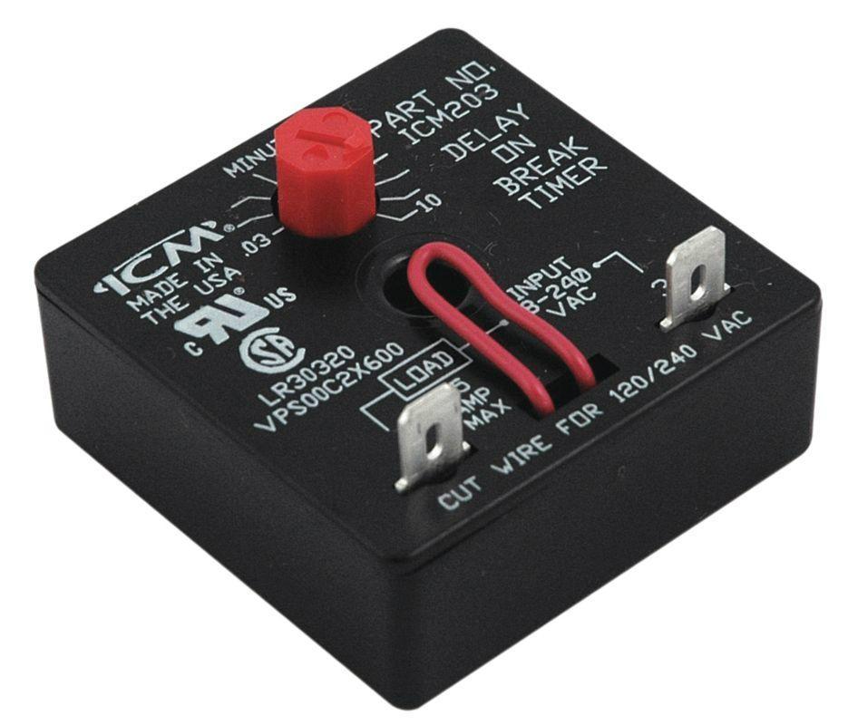 ICM CONTROLS控制器, 時間繼電器 5