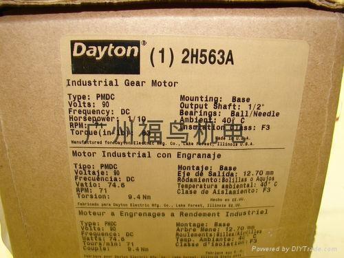 Dayton齿轮马达, 齿轮减速机, 齿轮电机 7