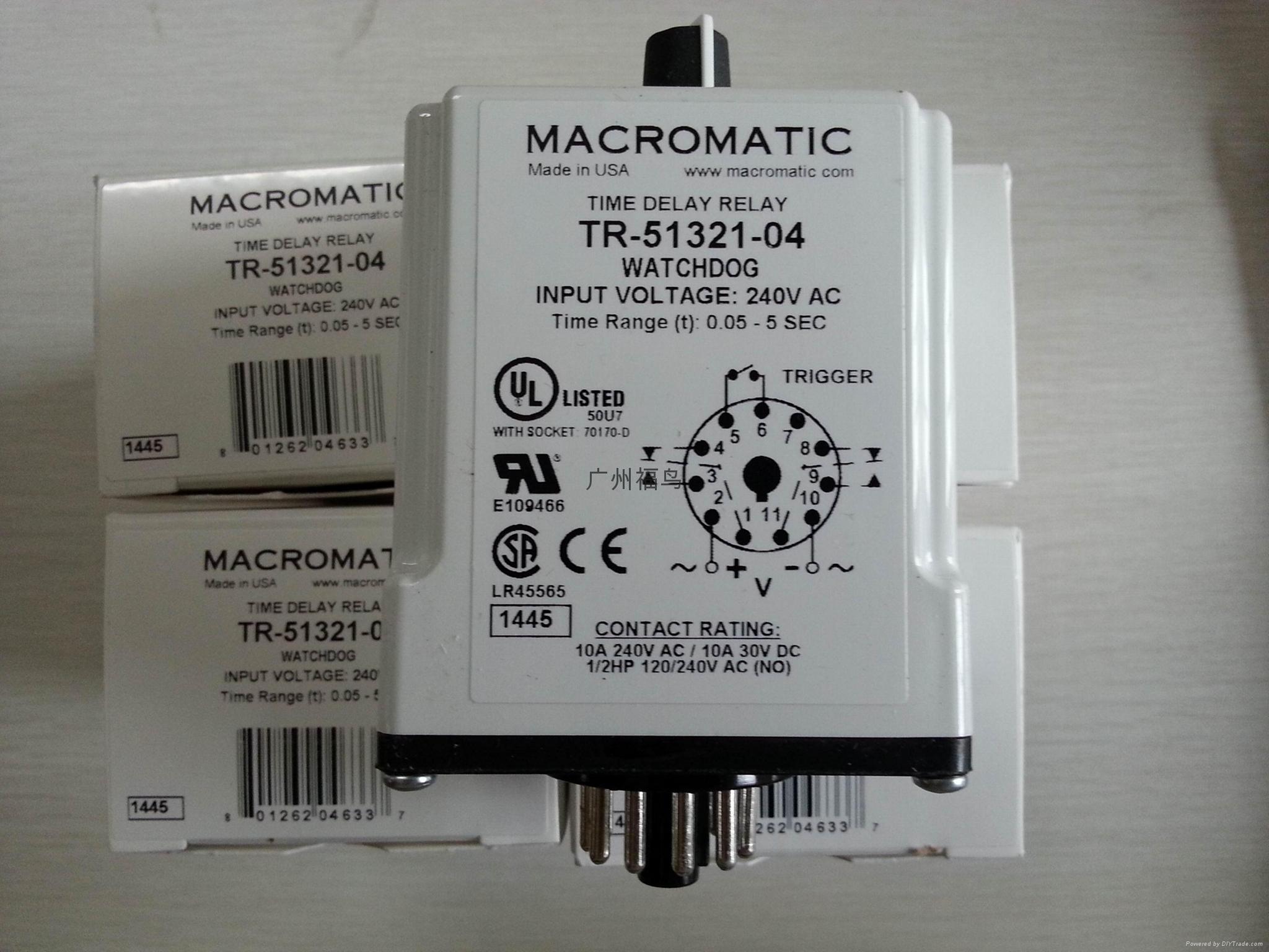 MACROMATIC时间继电器, 型号: TR-51321-04