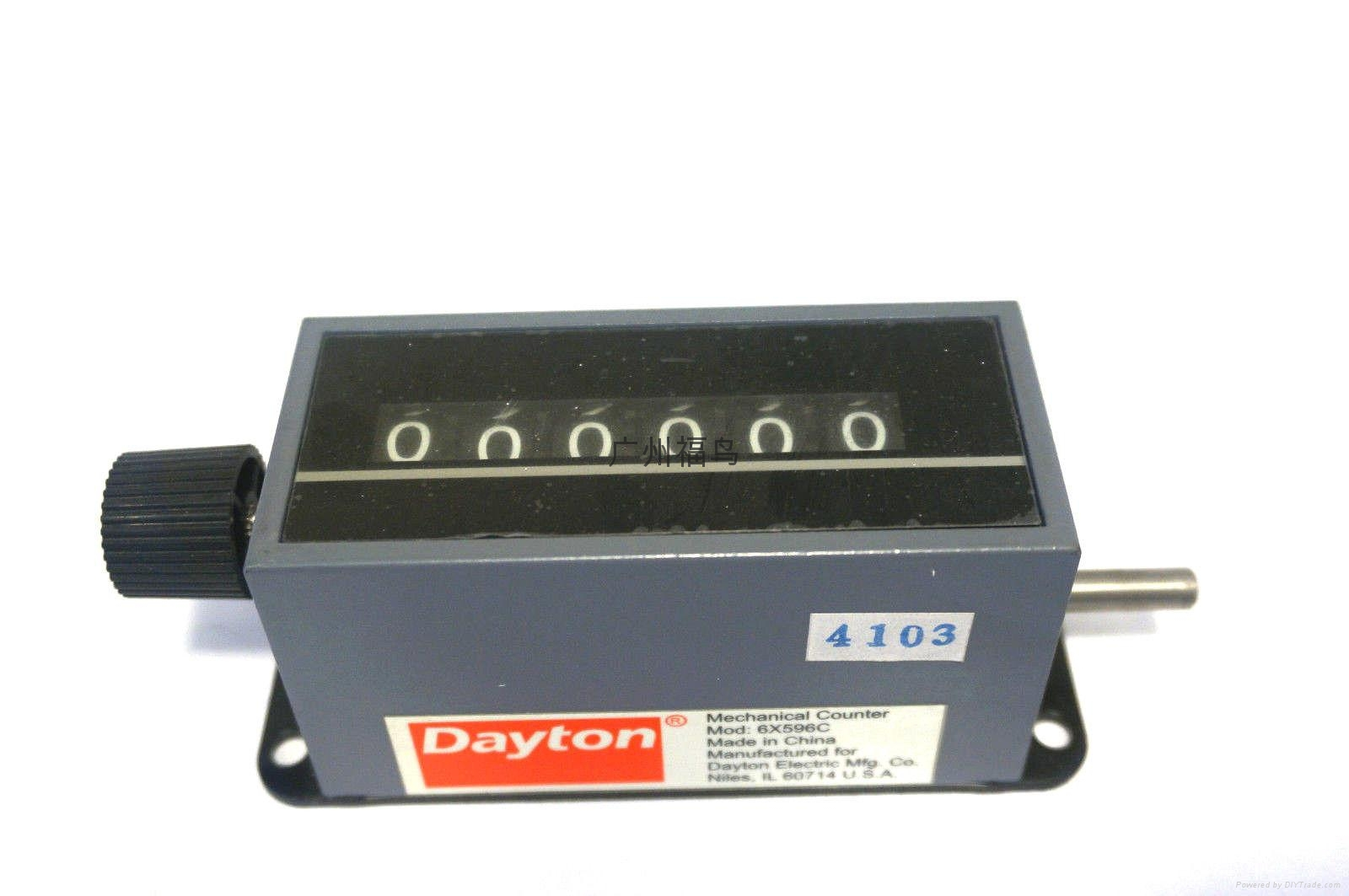 DAYTON計數器, 計時器, 線性執行器, 開關 3