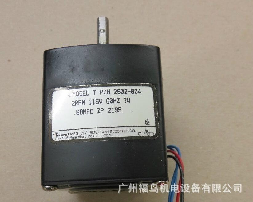 HURST马达, 电机, 型号: 2602-004