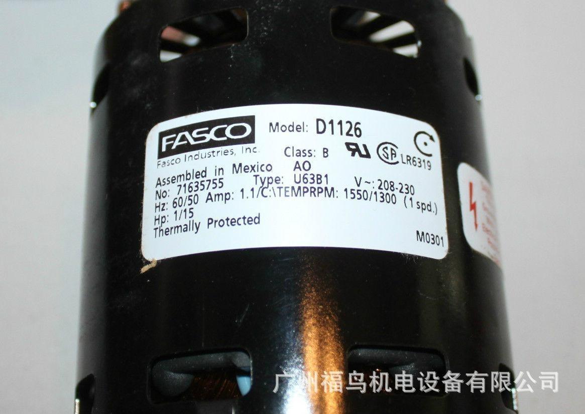 FASCO电机, 马达,  型号: D1126
