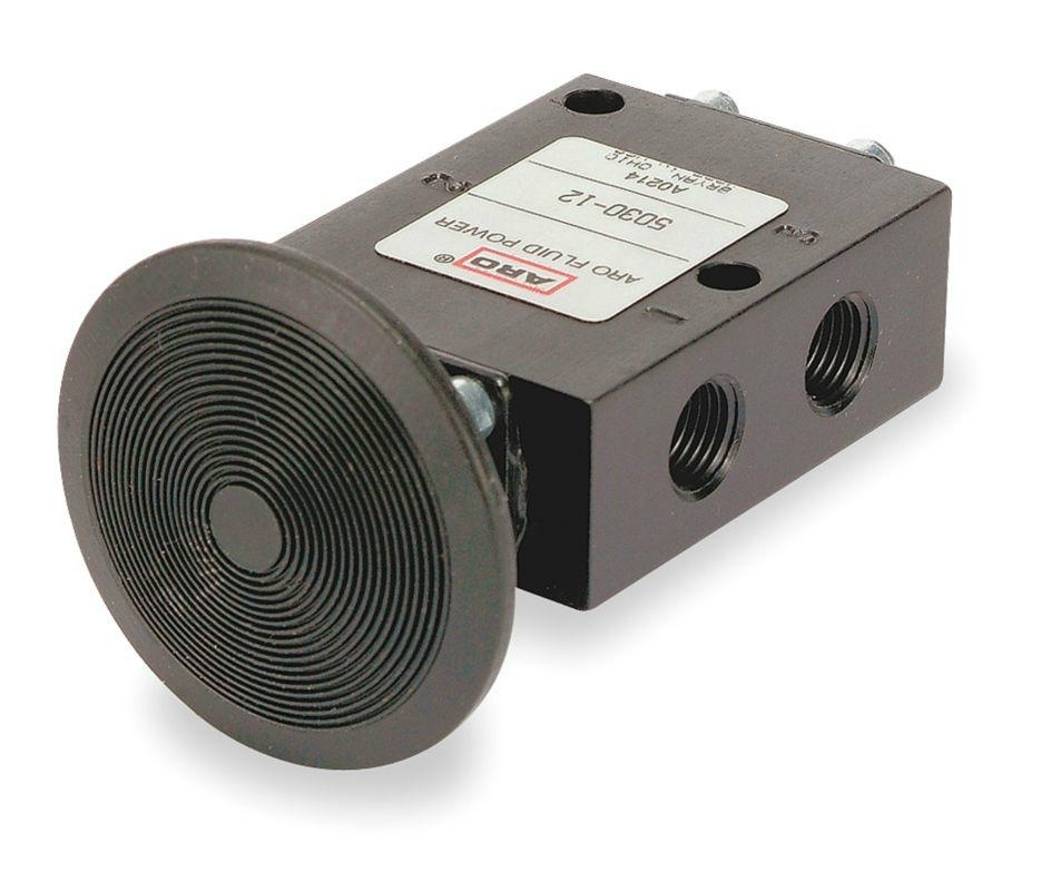 ARO Ingersoll Rand手動按鈕閥, 型號: 5030-12