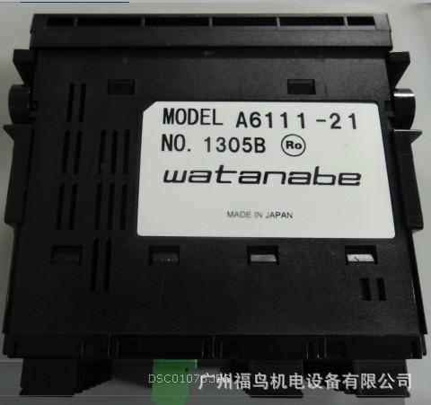 WATANABE數顯表,  型號: A6111-21