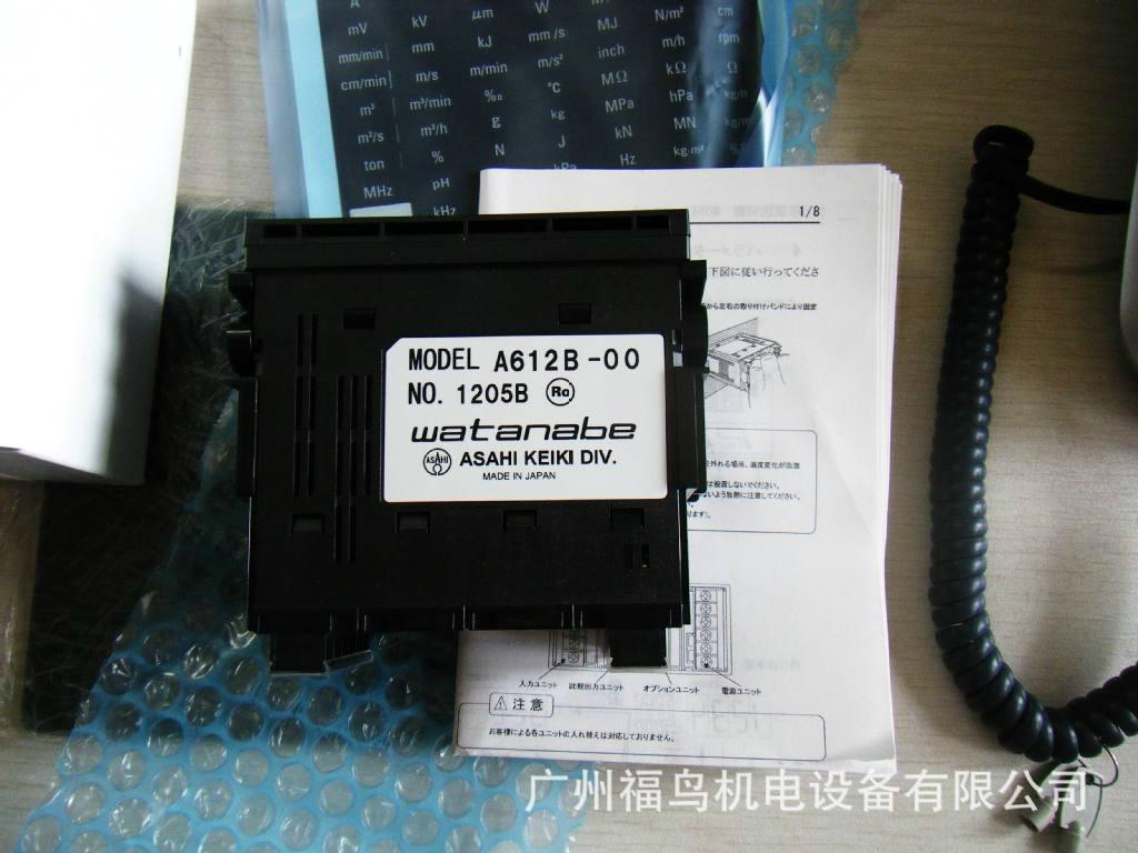 WATANABE数显表, 型号: A612B-00