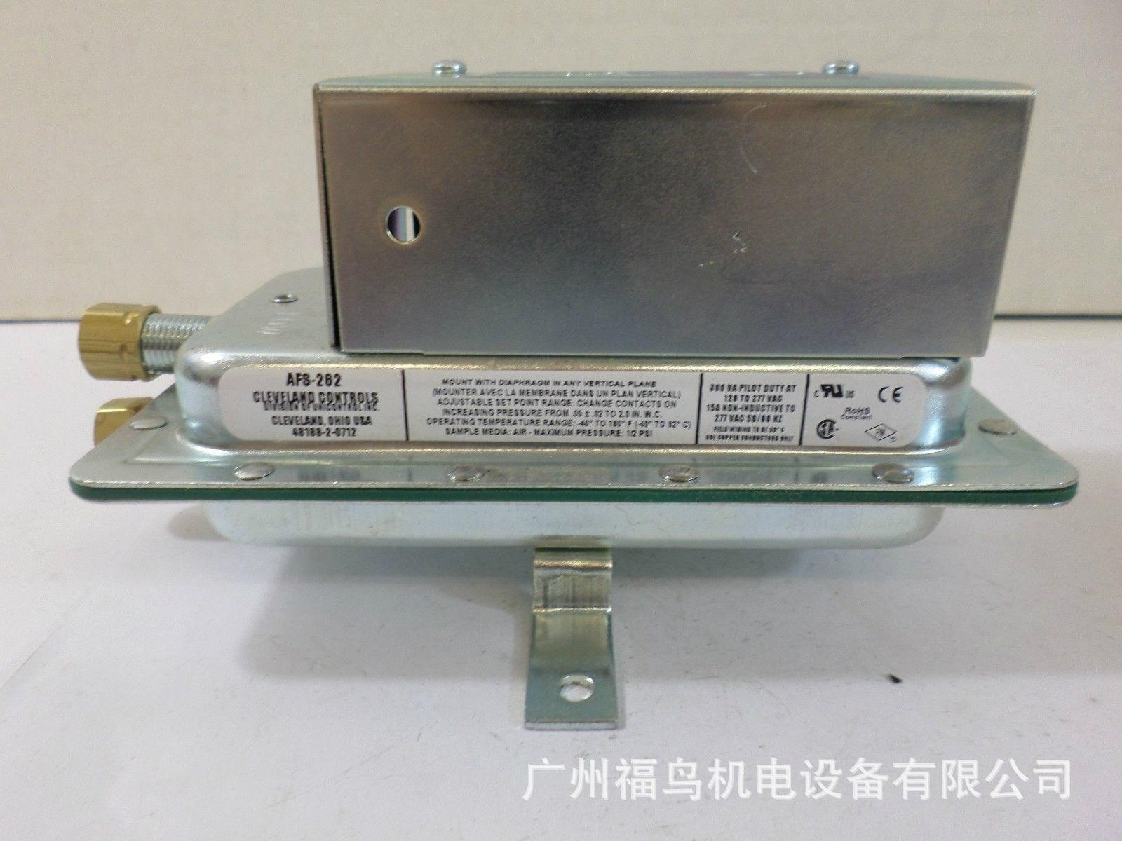 CLEVELAND CONTROLS压力开关, 型号: AFS-262