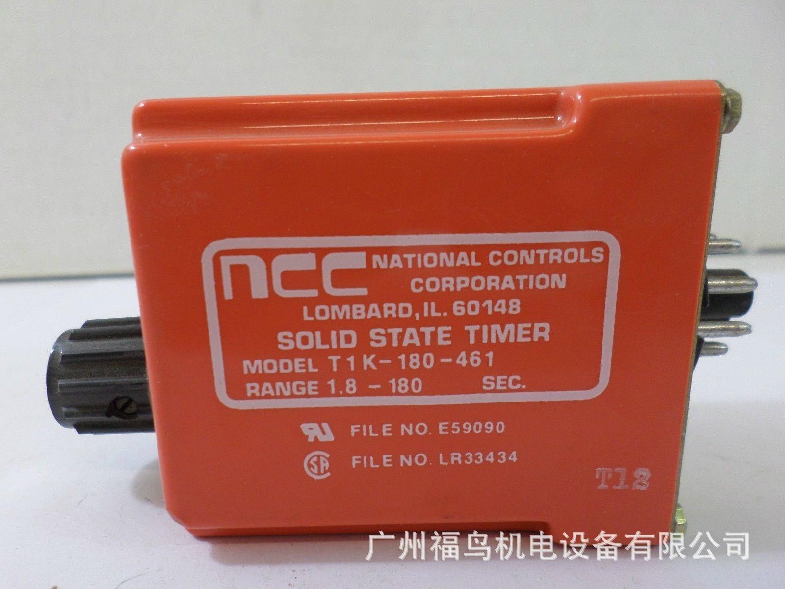 NCC延时继电器, 型号: T1K-180-461