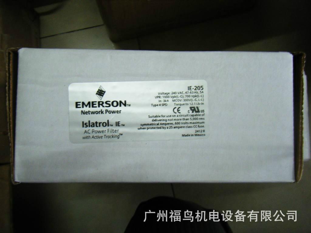 EMERSON滤波器, 型号: IE-205
