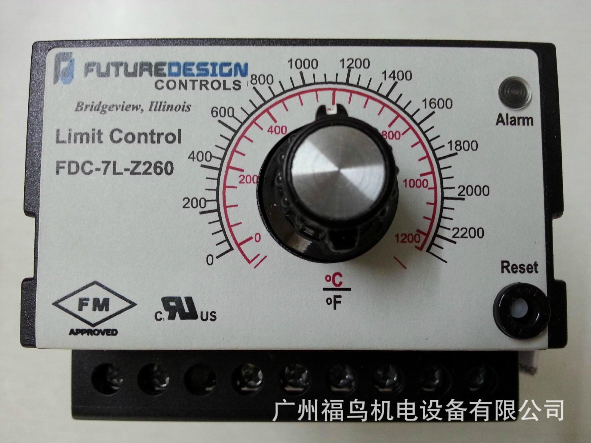 FUTURE DESIGN超溫控制器, 型號: FDC-7L-Z260