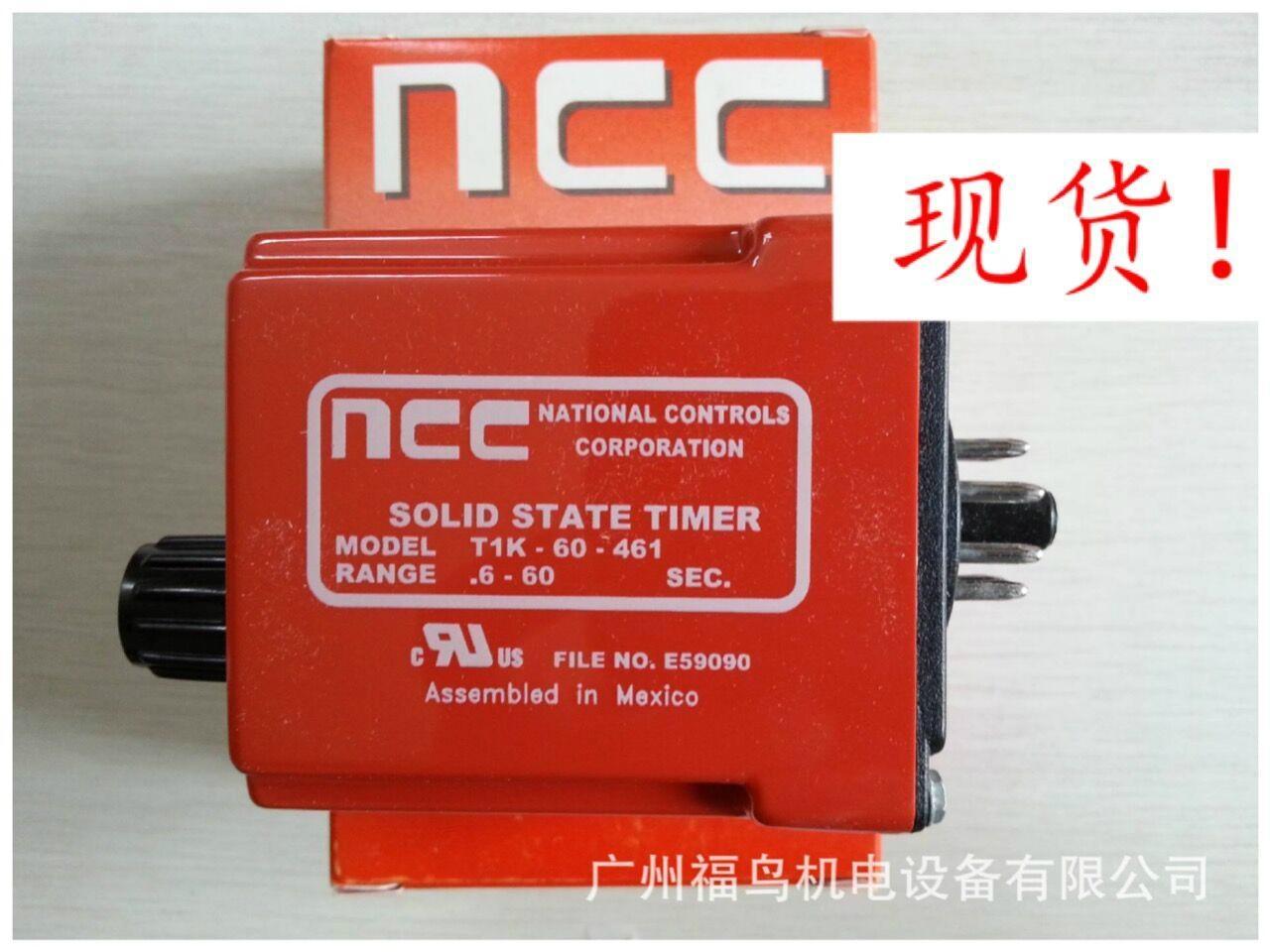 NCC延时继电器, 型号: T1K-60-461.