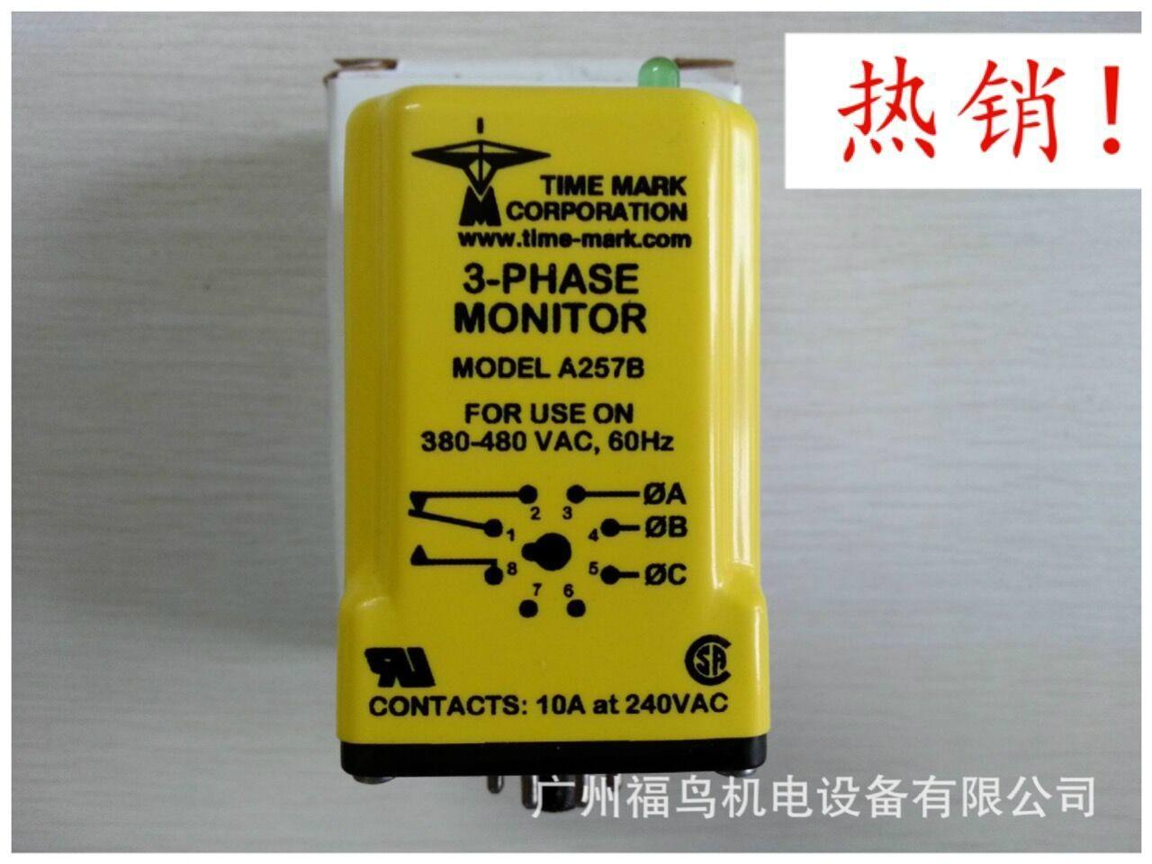 TIME MARK相序檢測器, 三相監控器, 型號: A257B