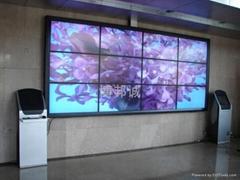 三星55寸拼接屏做  质的液晶拼接墙工程