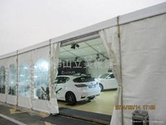 广州中升雷克萨斯汽车展示帐篷