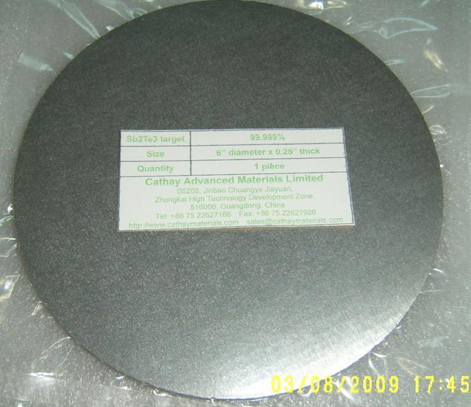 Antimony Telluride Sb2Te3 target 1