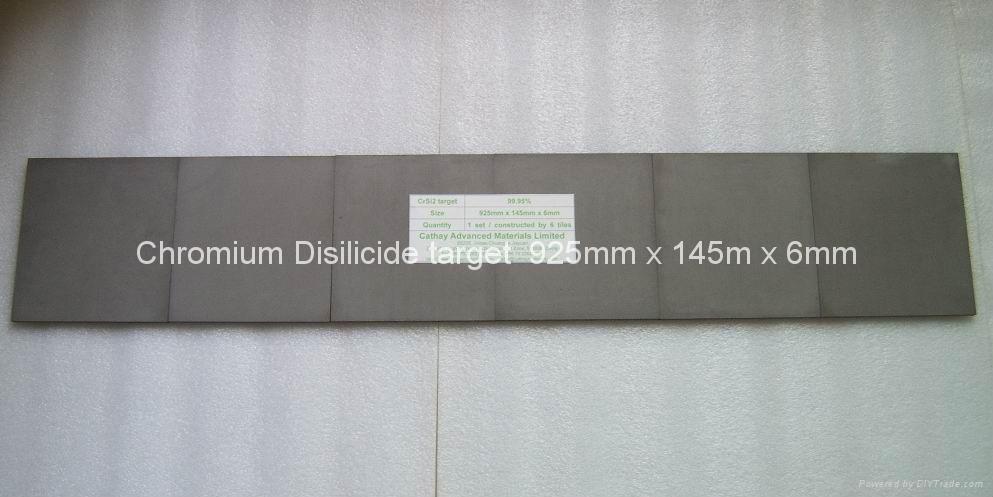 Chromium Silicide CrSi2 target 1