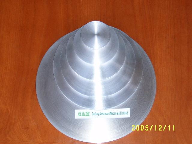 Aluminum Al target 1