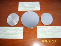 Ruthenium Ru & Silver Ag target