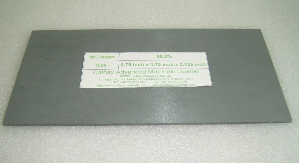 Tungsten Carbide WC target 1