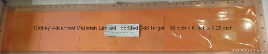 Cadmium Sulphide CdS target 2