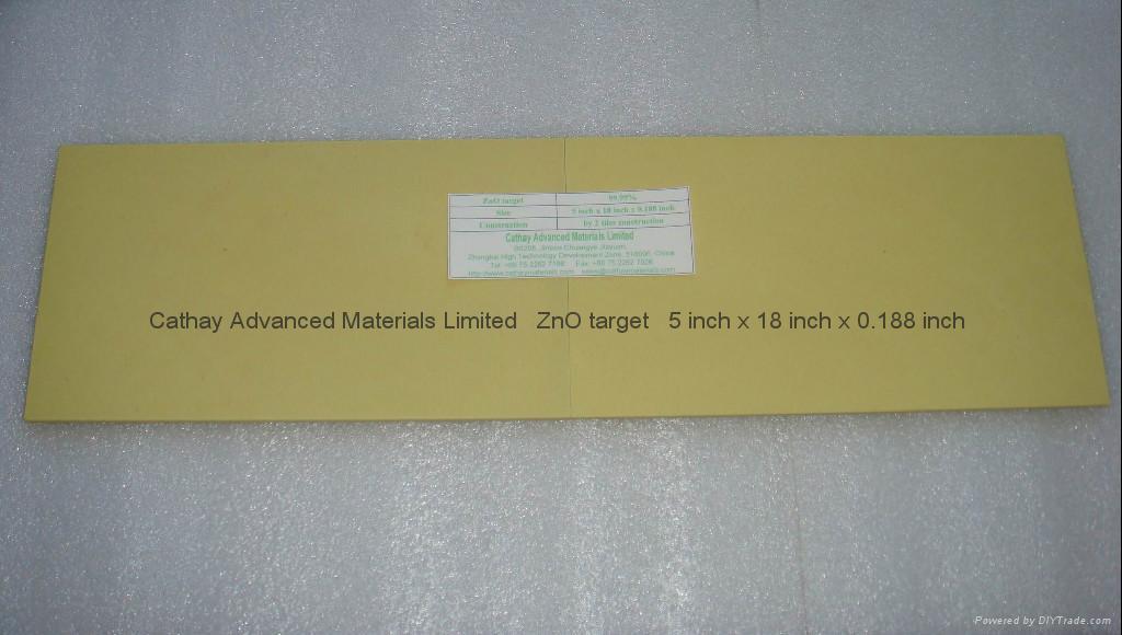 Zinc Oxide ZnO target 1
