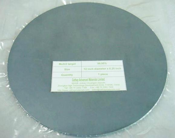 Molybdenum disilicide MoSi2 target 1