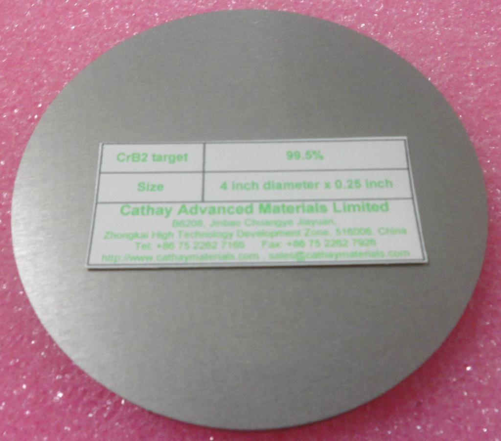 Chromium Diboride CrB2 target 2