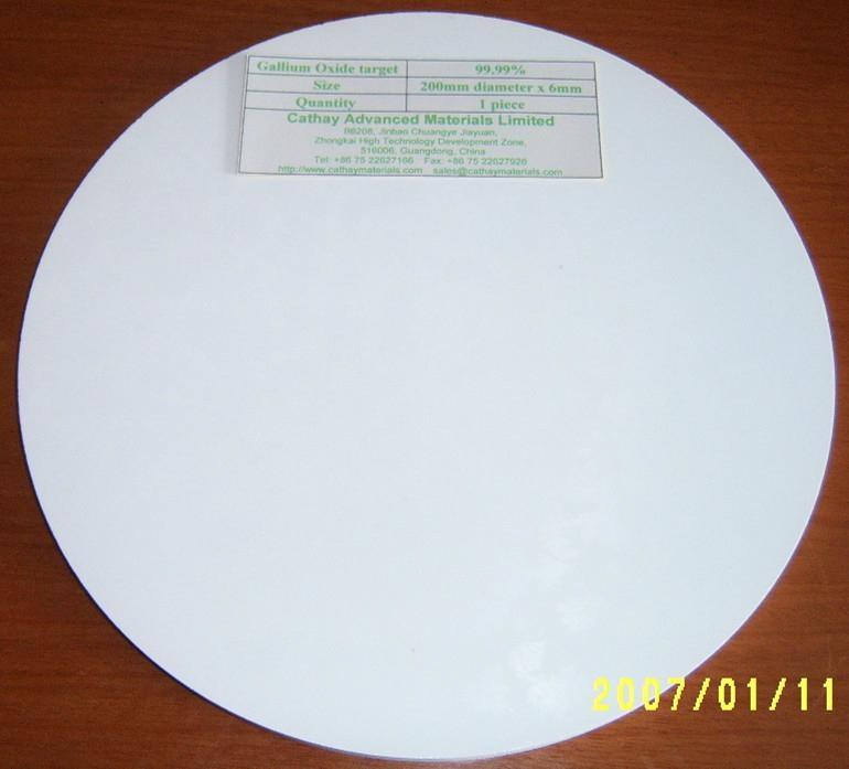 Gallium Oxide Ga2O3 target 1