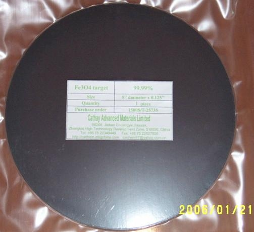 Iron Oxide Fe3O4 target