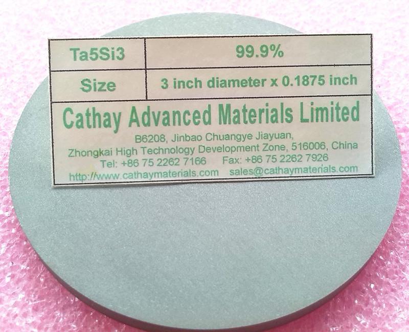 Tantalum Silicide Ta5Si3 target 1
