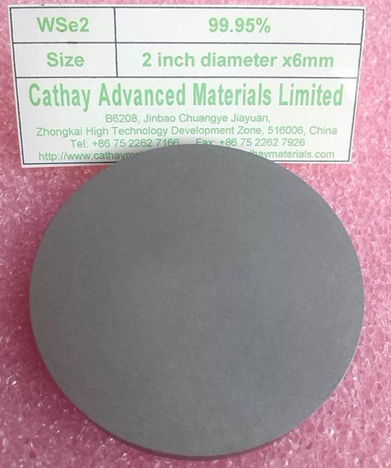 Tungsten Selenide WSe2 target