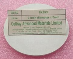 Germanium Sulfide GeS2 target