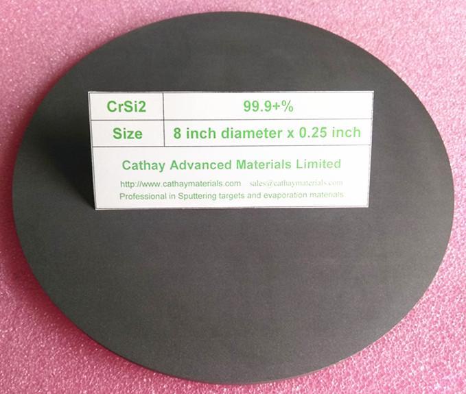 Chromium Silicide CrSi2 target 2