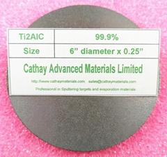 Titanium Aluminum Carbide Ti3AlC2, Ti3AlC2 target