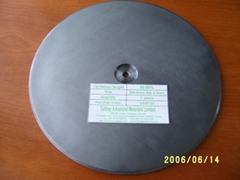 Tantalum planar target