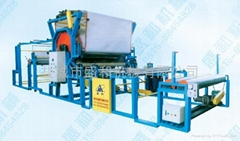 Glue net-belt type compound machine