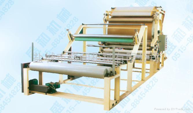 Glue net-belt type compound machine 3