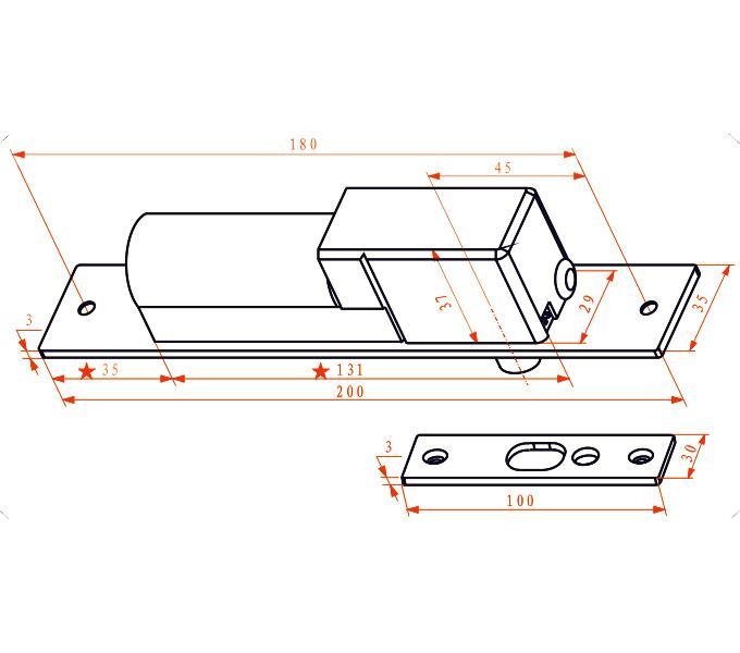 兩線低溫/帶延時偵測信號電插鎖 2