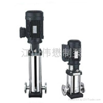 CDL輕型立式多級離心泵 1
