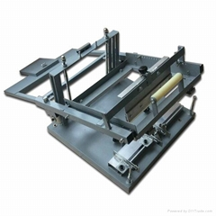 manual bottle/cup screen printing machine for single color