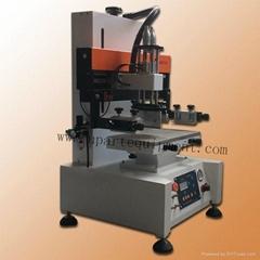 tabletop screen printer for metal, plastic surface