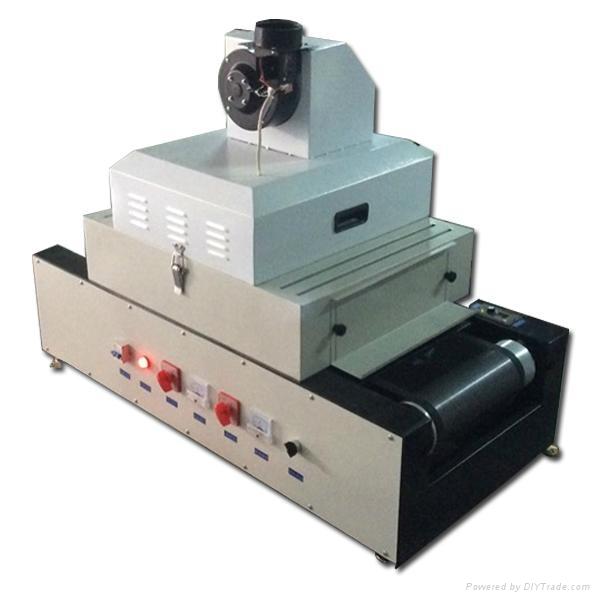 Uv Curing Machine : Teflon belt width mm mini uv curing machine