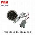 PTC01-200串口摄像机 监控串口摄像头 485接口串口摄像头 车载摄像头 2