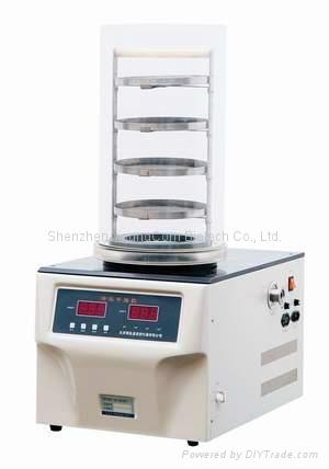 實驗室真空冷凍乾燥機小型凍干機冷凍機普通型 1