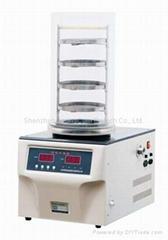 实验室真空冷冻干燥机小型冻干机冷冻机普通型