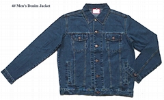 100% Denim Jacket